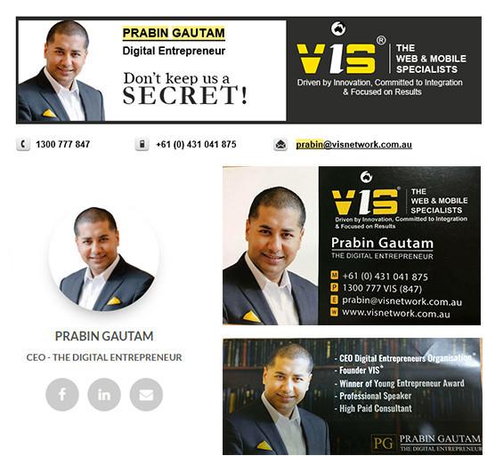 Prabin Gautam Business Consultant Melbourne